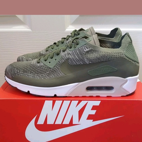 Pulido Menos documental  Nike Shoes | Nike Air Max 9 Ultra 20 Flyknit Green Shoes | Poshmark